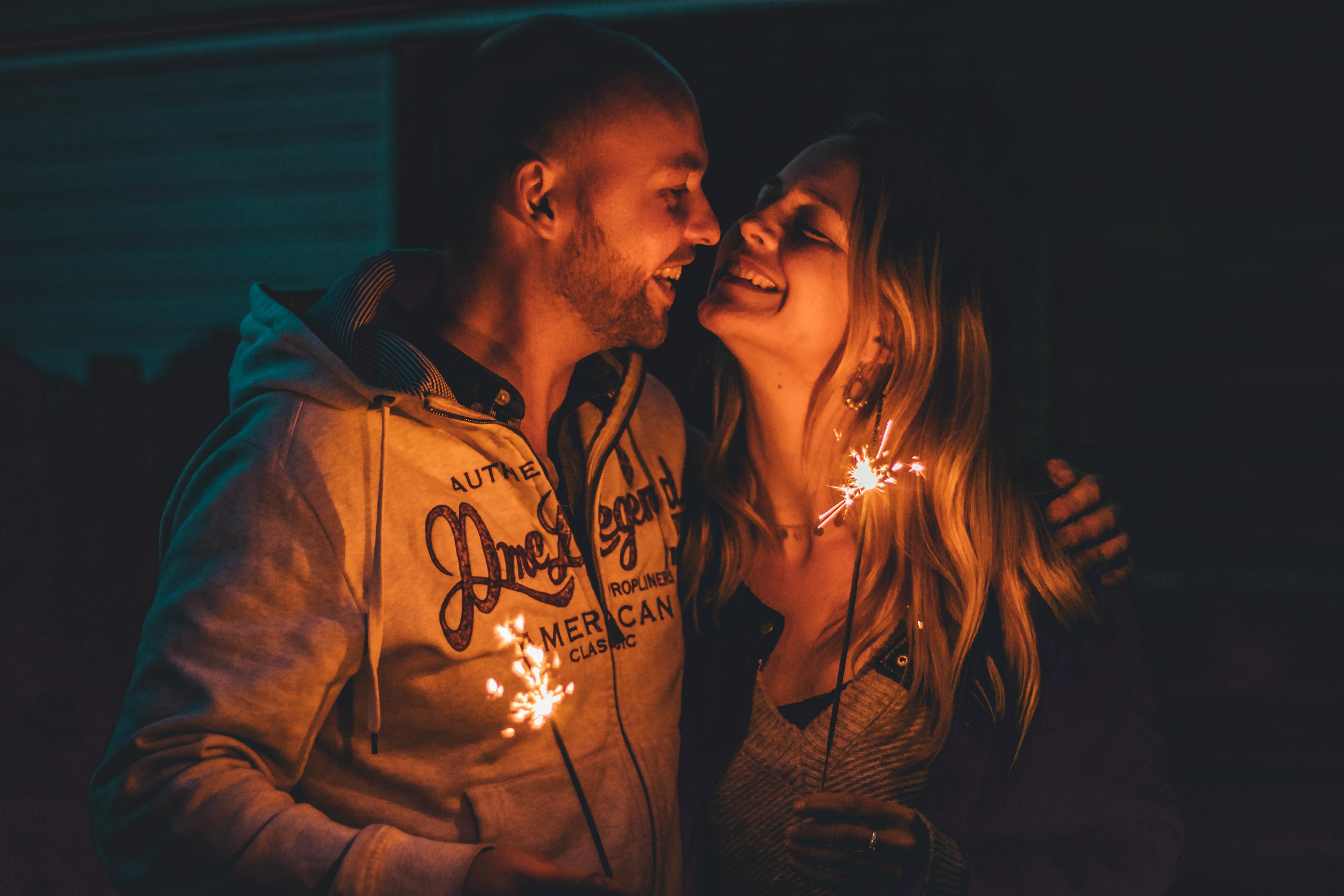 lachende liefde
